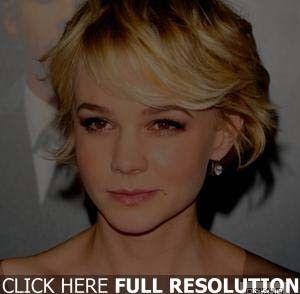Coupe de cheveux courte pour visage carre femme