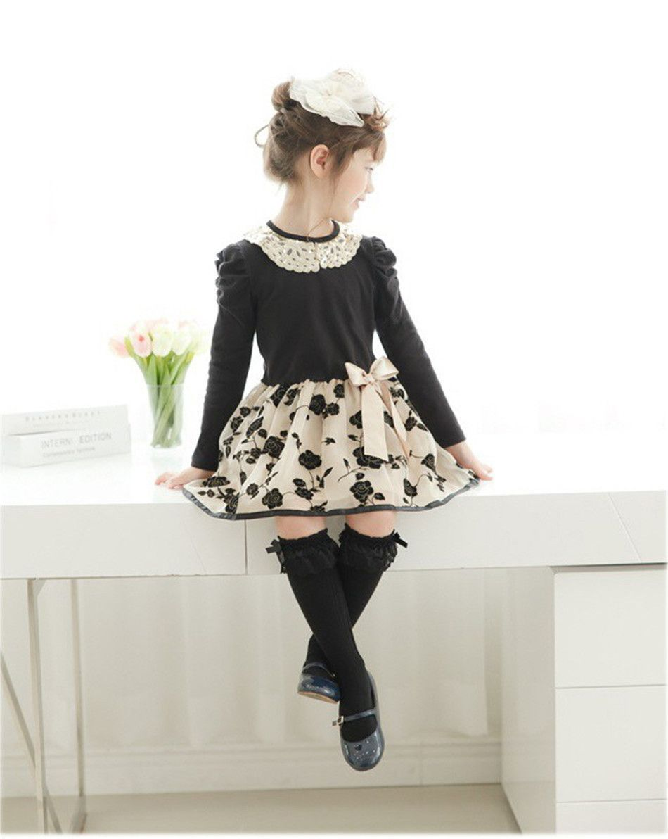 Baby dresses for wedding  Hot Sale New Summer Girls Dress  Wedding Casual Lace Kids Baby