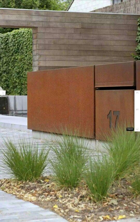 moderne voortuin voortuin pinterest z une eingang. Black Bedroom Furniture Sets. Home Design Ideas