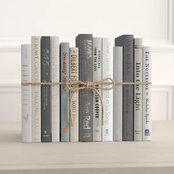 12 Piece By Color Modern Granite Colorpak Authentic Decorative Book Set In 2020 Book Decor Decorating Bookshelves Bookshelf Decor