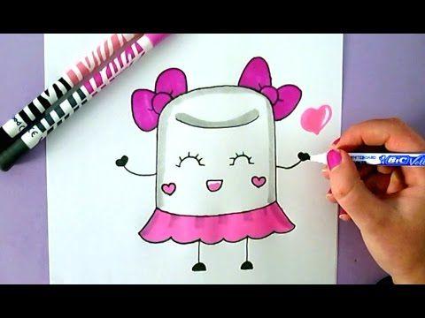 Wie Zeichnet Man Einen Einhorn Cupcake Youtube Badesalz Kawaii