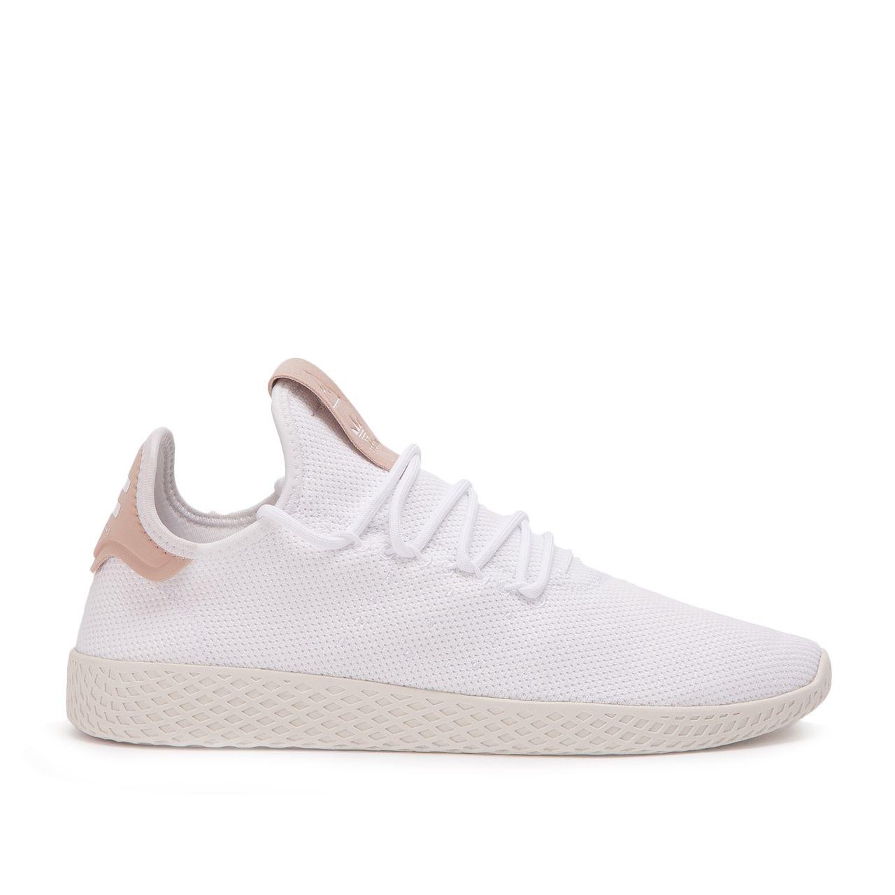 adidas x Pharrell Williams Tennis HU (Weiß Beige) #sneaker