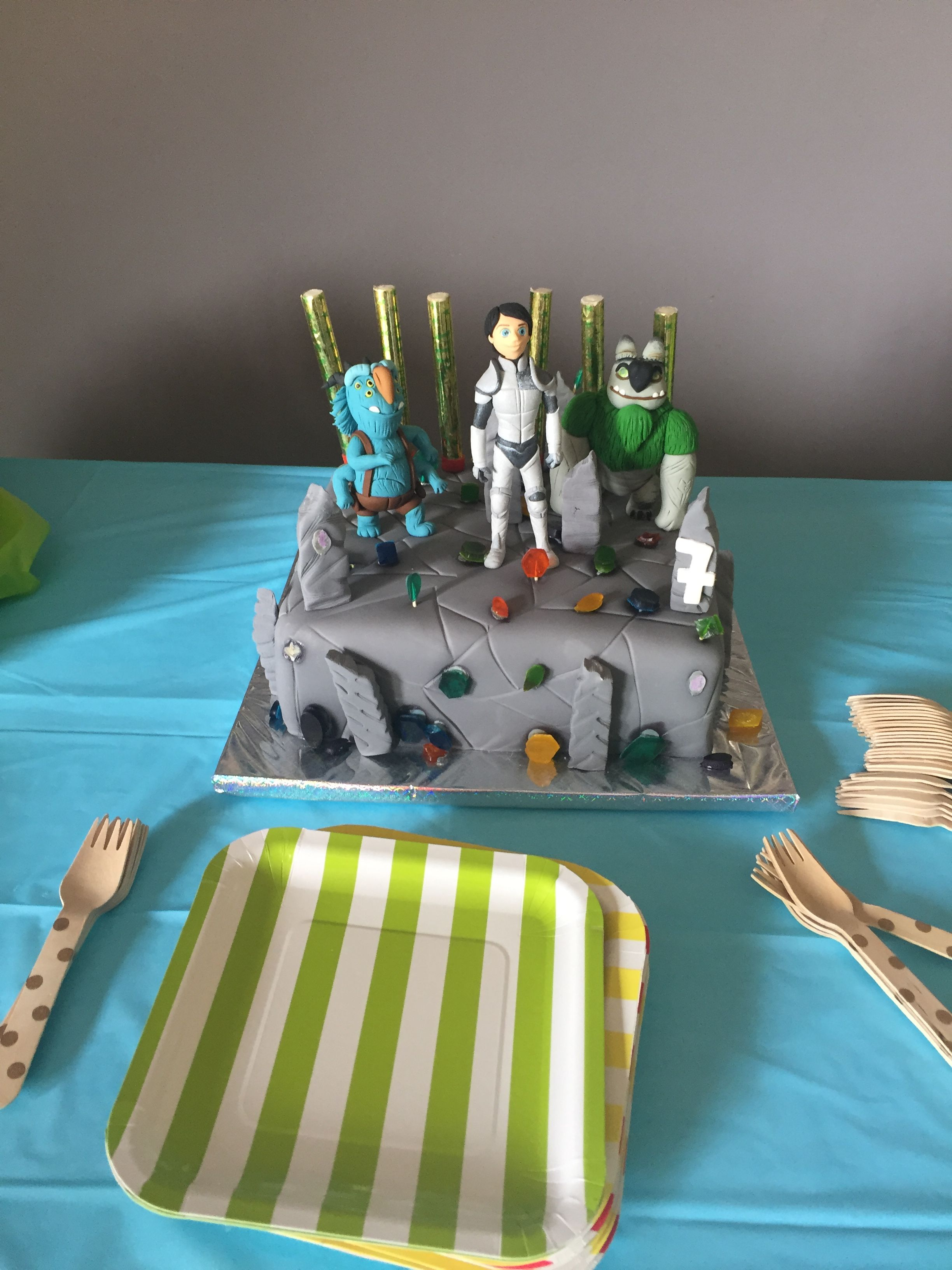Trollhunters Cake Cakes Birthday Party Themes