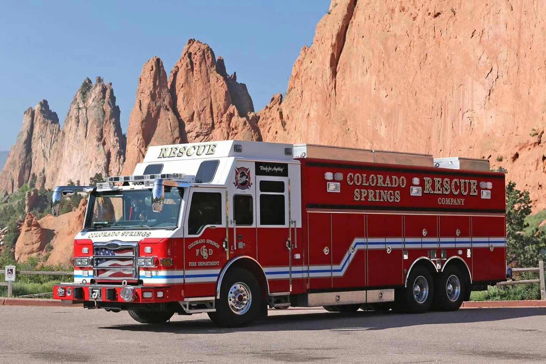 Colorado Springs Rescue Company Pierce Heavy Duty Rescue