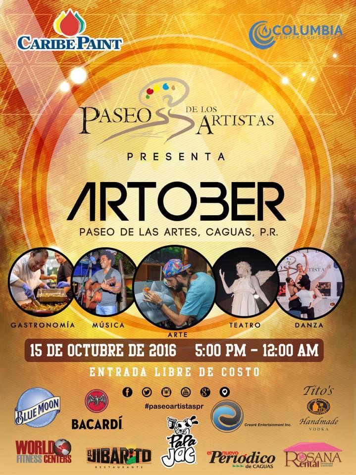 Paseo de los Artistas: Artober #sondeaquipr #paseodelosartistas #artober #caguas #festivalespr #paseodelasartes