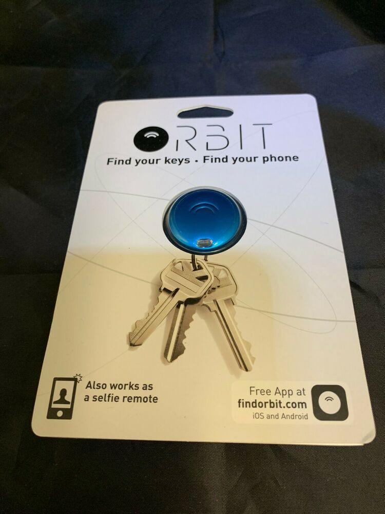 NEW! Orbit Key Finder & Selfie Remote GPS Find Your Keys