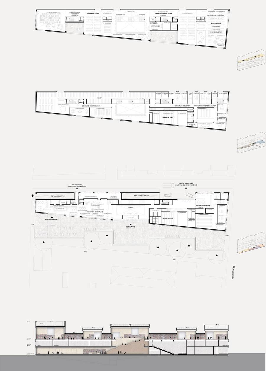 skulpturaler bauk rper arch plan pinterest architektur grundriss und bibliothek. Black Bedroom Furniture Sets. Home Design Ideas