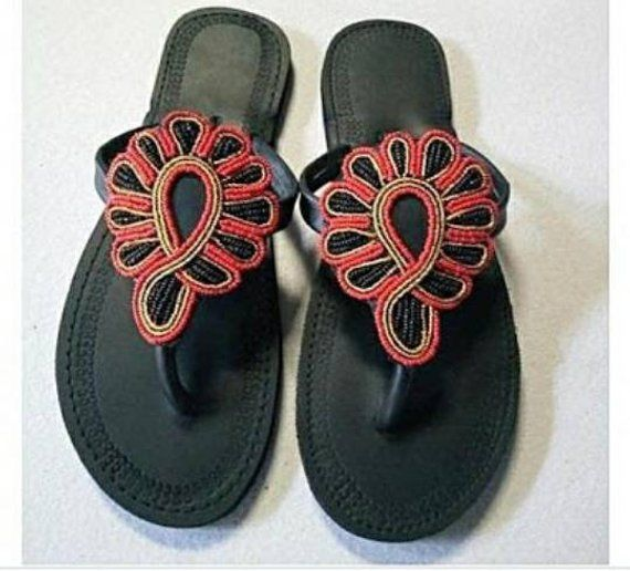 17f7fea5468cb African maasai sandals  Kenyan sandals  Leather sandals  women shoes ...