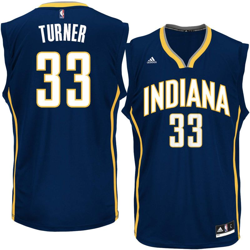 Myles Turner Indiana Pacers adidas Replica Jersey - Navy