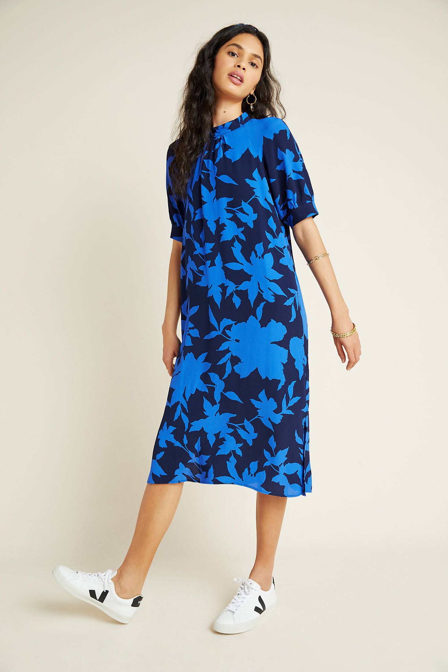 McKenzie Mock Neck Tunic Dress