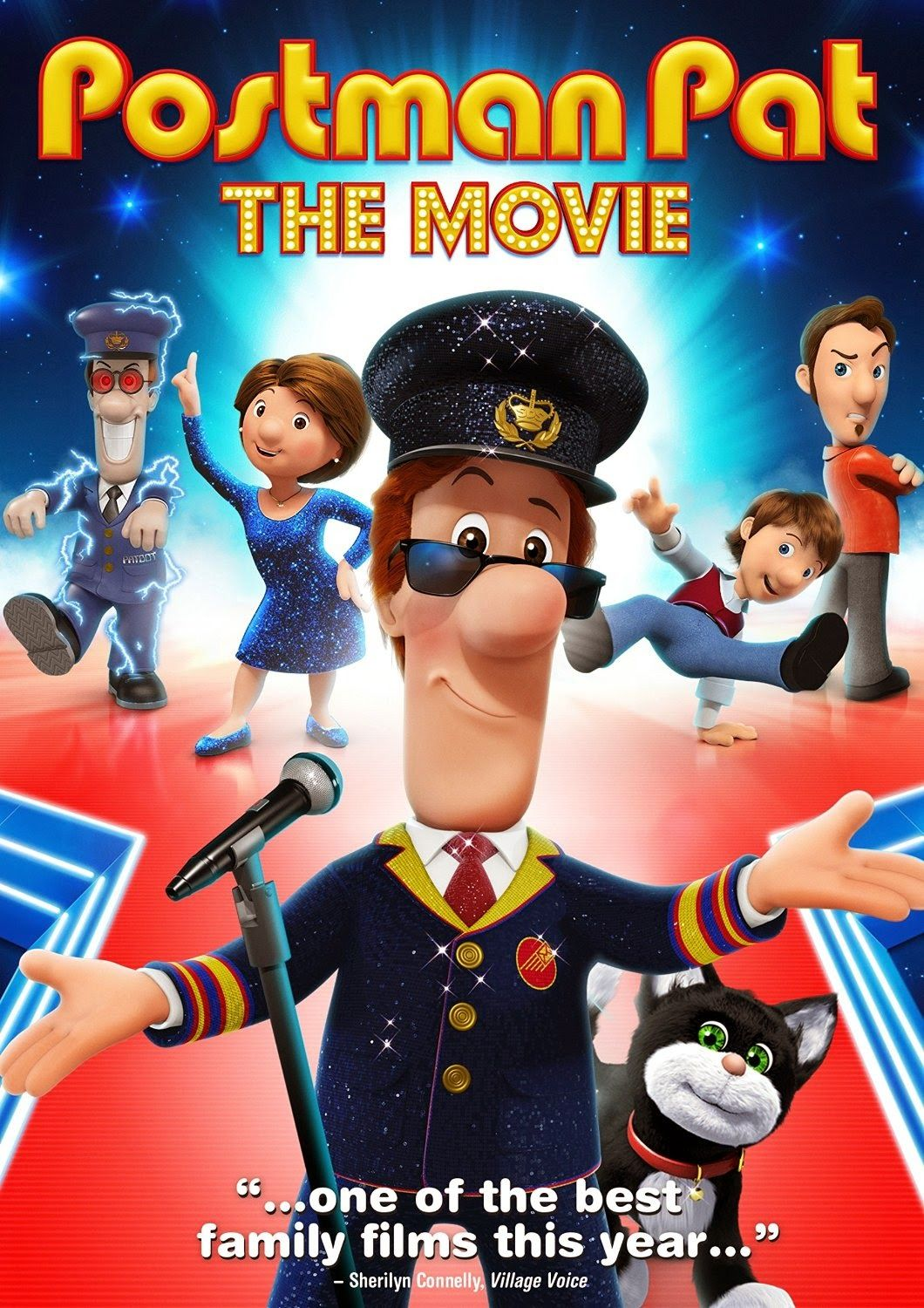 Sugar Pop Ribbons Reviews and Giveaways: Postman Pat: The Movie DVD & 2 Giveaways