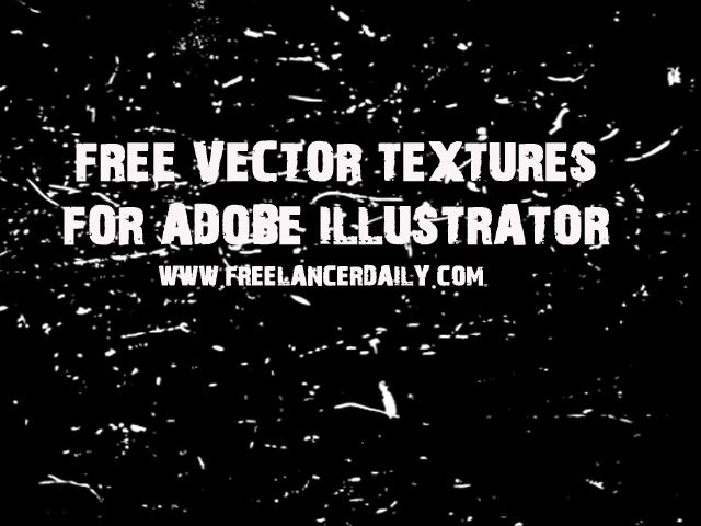 Free Vector Textures for Adobe Illustrator