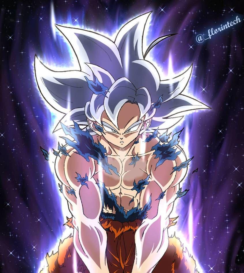 Ultra Instinct Goku By Florintech On Deviantart Dragon Ball Super Artwork Anime Dragon Ball Super Dragon Ball Wallpaper Iphone