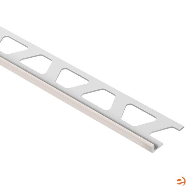 Schluter A30bh Jolly Edging Profile For 1 8 Inch Thick Tile 8 2 1 2 Inch Length Bahama Coated Aluminum Tile Edge Trim Tile Edge Metal Tile