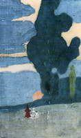 Wassily Kandinsky.  Salida de la luna, 1903