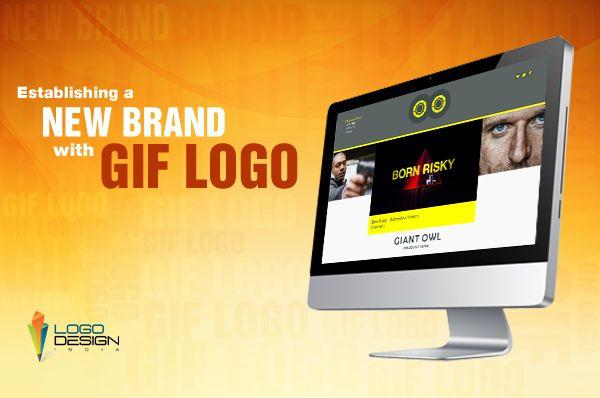 Establishing A New Brand With Gif Logo Logo Design India Logos Design Cool Logo
