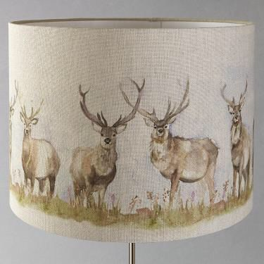 Stag lampshade johnlewis lounge room pinterest lamp shades and stag lampshade johnlewis aloadofball Gallery
