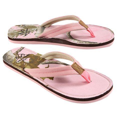 6aa79c7304d0c Realtree Pink Camo Women's Flip Flop $14.99 #realtreecamo #camoshoes ...