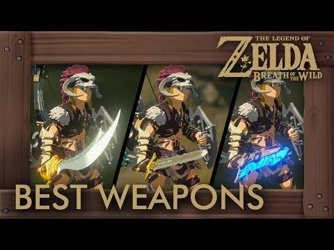 Zelda Breath of the Wild - Best Weapons (One-Handed Swords