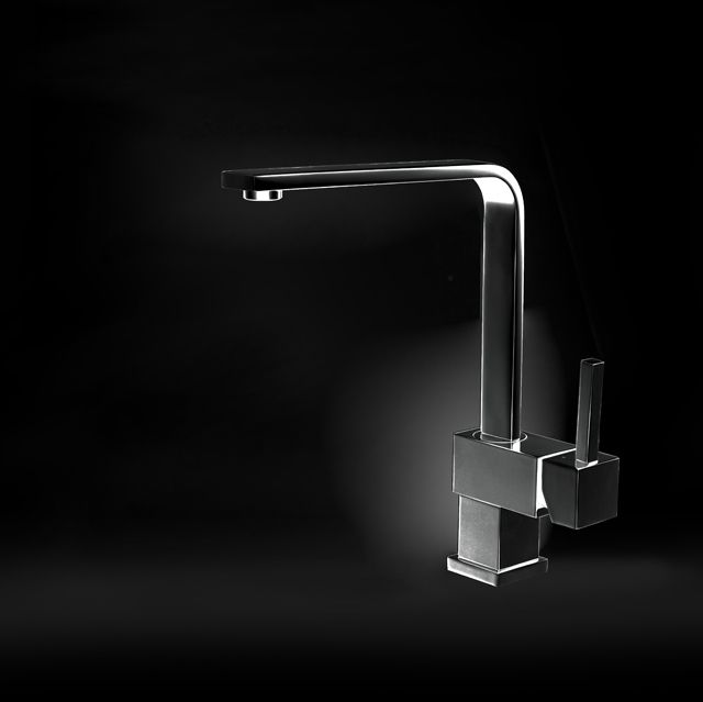 Laguna Anthracite Kitchen Mixer Tap | Alveus | Kitchen ...