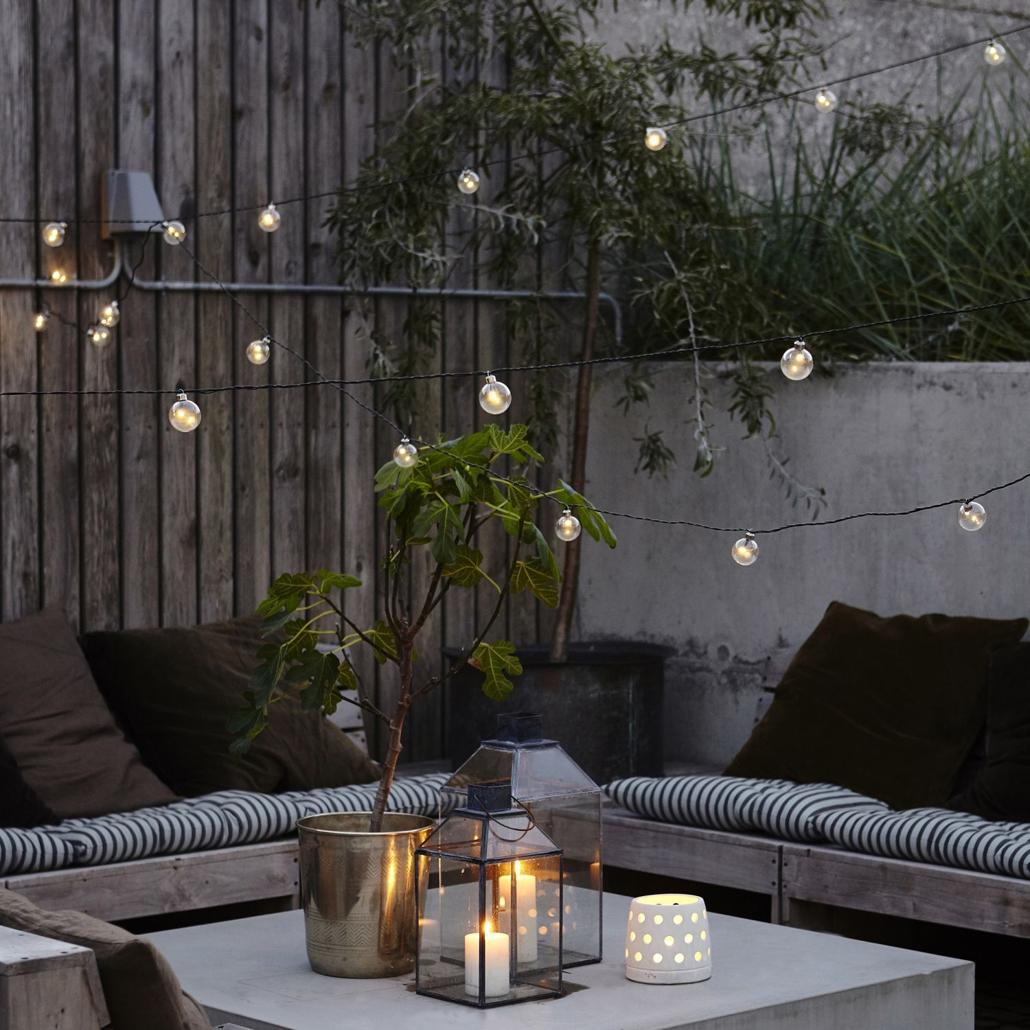 Stylish Festoon Lights From Danish Company House Doctor Add These