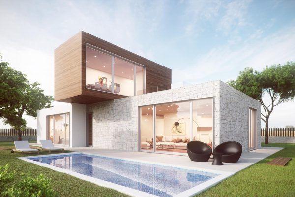 Casas modulares en Casas inHaus 13654 Casas modulares