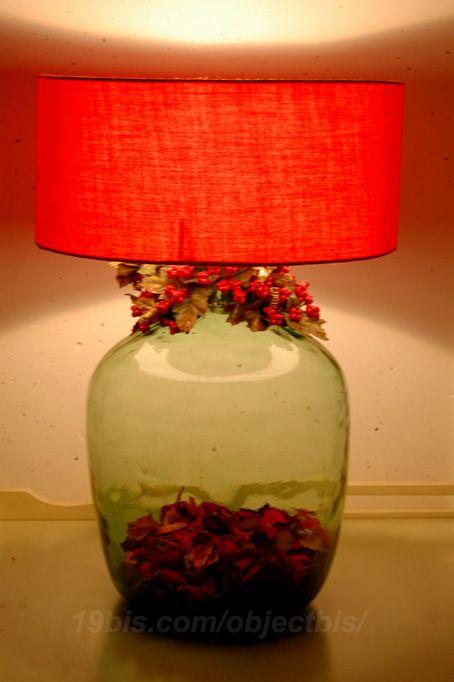 Como Hacer Lamparas Con Botellas De Vidrio Recicladas Hacer Tu Propia Lampara Con Una Botella De Vidrio Es Ideal Para