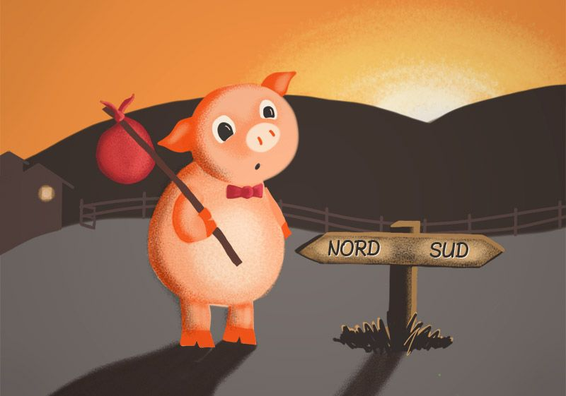 The Story Of Quot The Three Little Pigs Quot In Spanish And English With Slow Audio By A Native Spanish Speaker Little Pigs Three Little Pigs Pig In French