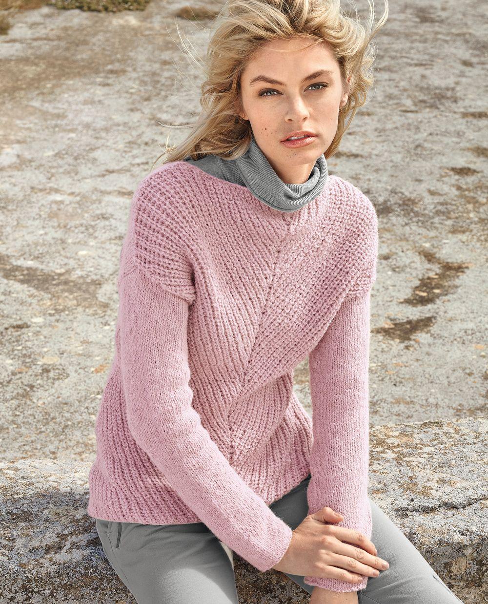 схема вязания свитеров с тигром