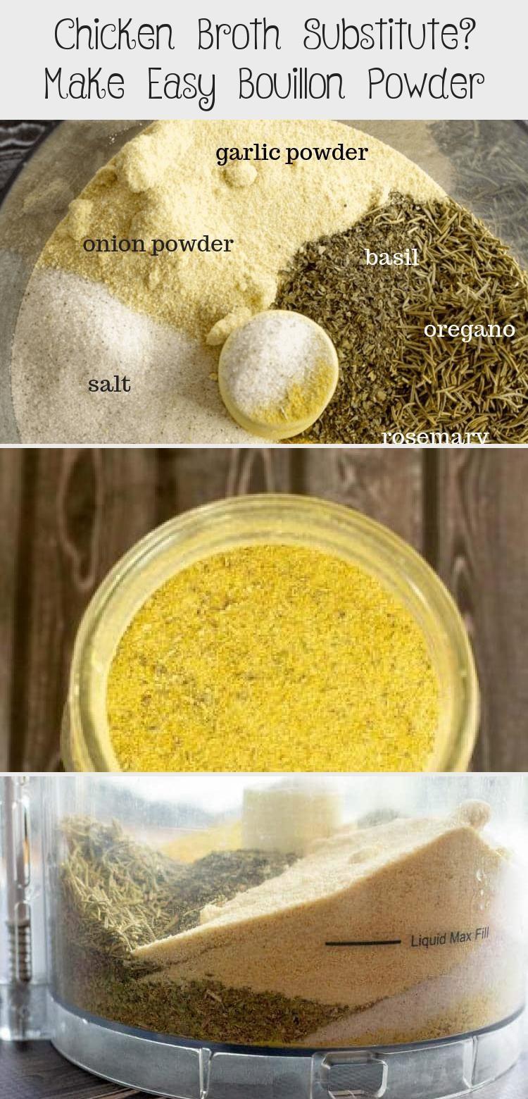 Chicken Broth Substitute? Make Easy Bouillon Powder in
