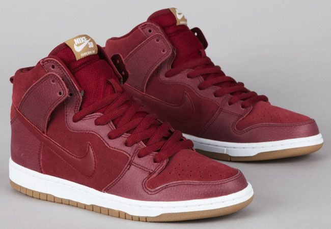best sneakers fda84 14f2a Nike SB Dunk High Pro - Team Red  Filbert (Now Available) -  KicksOnFire.com !