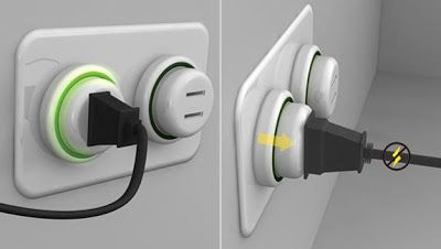 Attractive Innovative Electrical Outlets And Cool Power Sockets (21) 2
