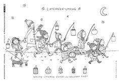 Download Als Pdf Durch Das Jahr Sankt Martin Laternenumzug Strasser Coloring Pages Doodle Pages Colouring Pages