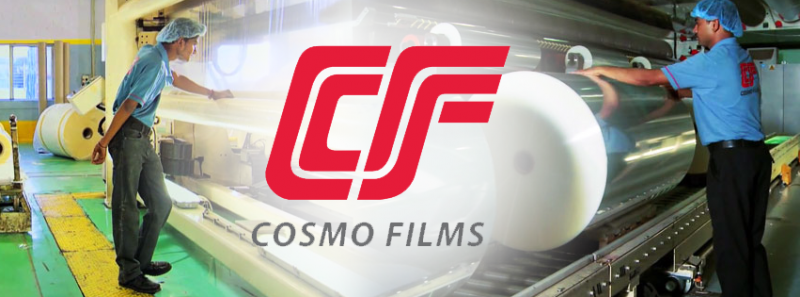 Cosmo Film leading manufacturing industry in metallized film