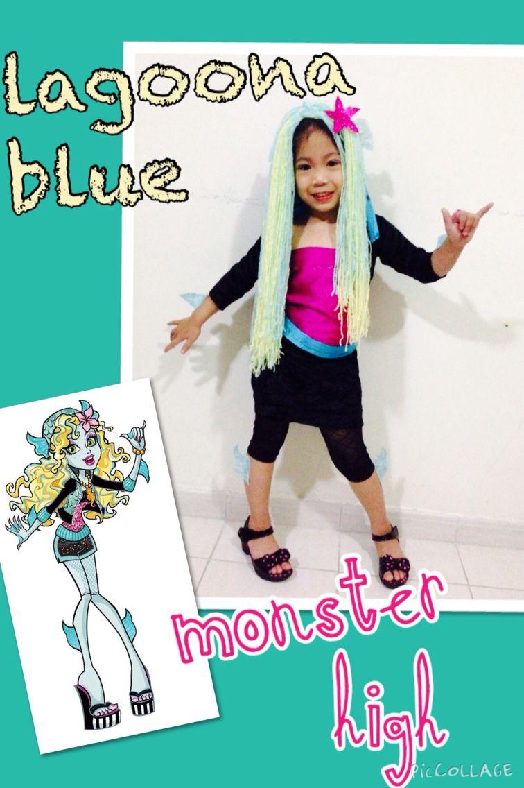 Monster High Lagoona Blue Kostuem.Diy Lagoona Blue Costume Lagoona Blue Kids Costumes Costumes
