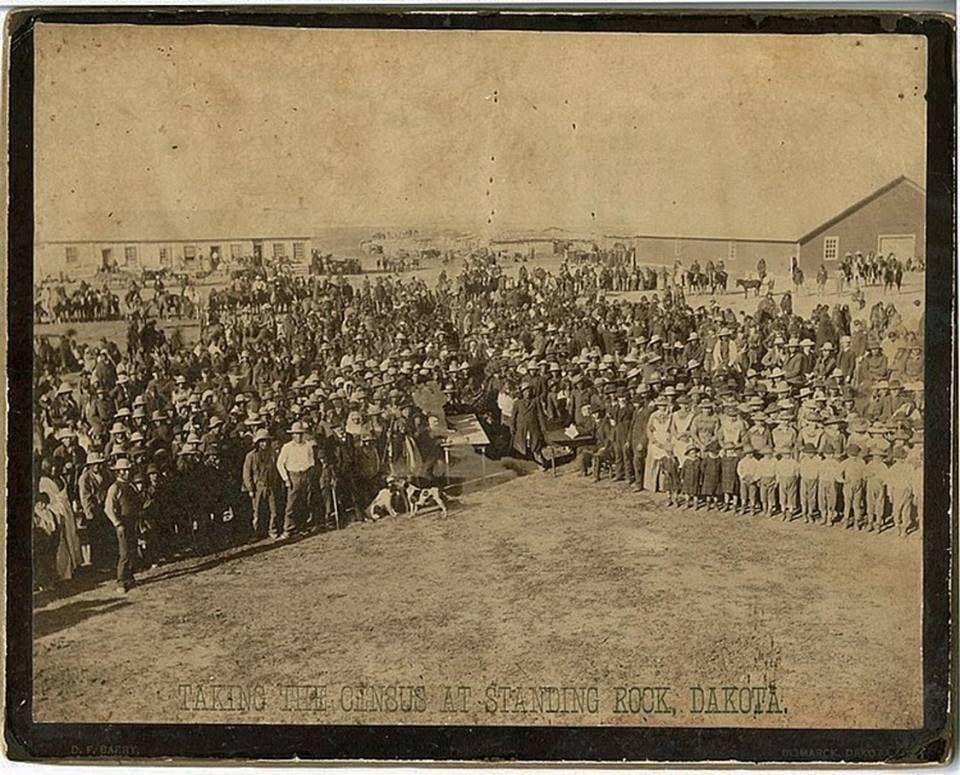 STANDING ROCK , 1886