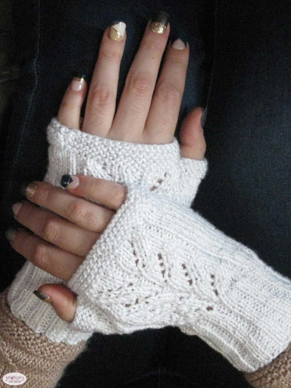 For the Future Bride Mitts | Knit and Relax | Pinterest | Cintas