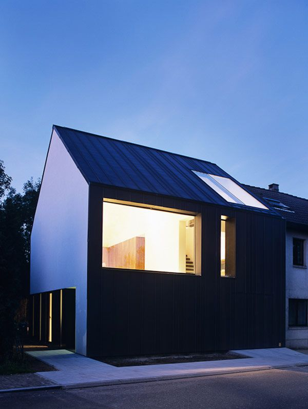 Join buildyful.com - the global place for architecture students.~~Tim Van de Velde modern architecture house home