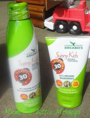 Mamiu0027s 3 Little Monkeys: Goddess Garden Organics   Natural Sunscreen Review  U0026 Giveaway! US 8/15 RECEIVED THANK YOU