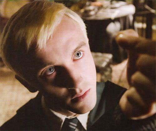 Draco Malfoy Holding A Dove S Feather Draco Malfoy Draco
