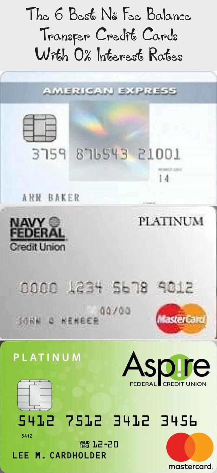 The 6 Best No Fee Balance Transfer Credit Cards With 0 Interest Rates Credit Score In 2020 Credit Card Transfer Balance Transfer Credit Cards Platinum Credit Card