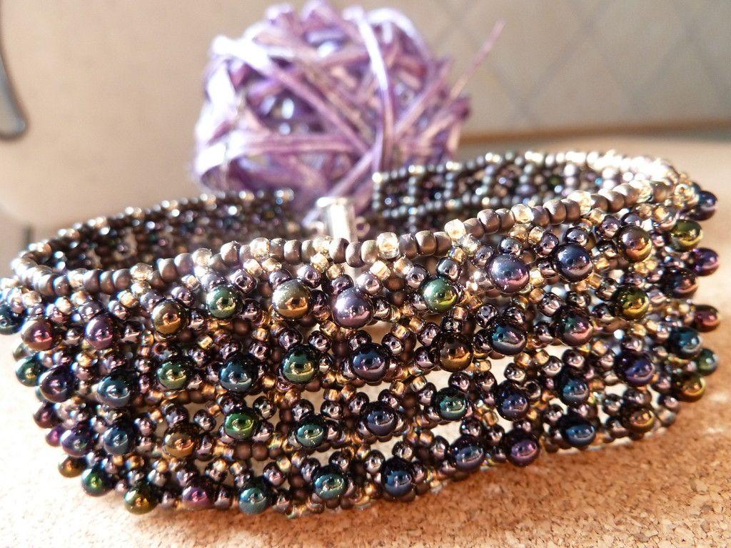 Armbänder/ bracelet - silkes-perlendesigns Jimdo-Page!