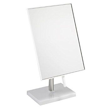 Free Standing Bathroom Or Dressing Table Mirror 22cm X 16cm White Mirror Table Dressing Table Mirror Mirror