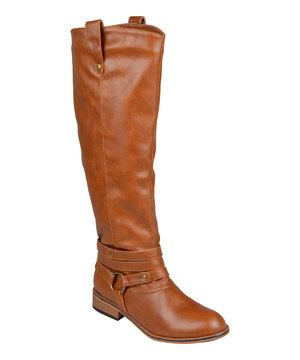 Another great find on #zulily! Chestnut Wide-Calf Bailey Boot by Brinley Co. #zulilyfinds