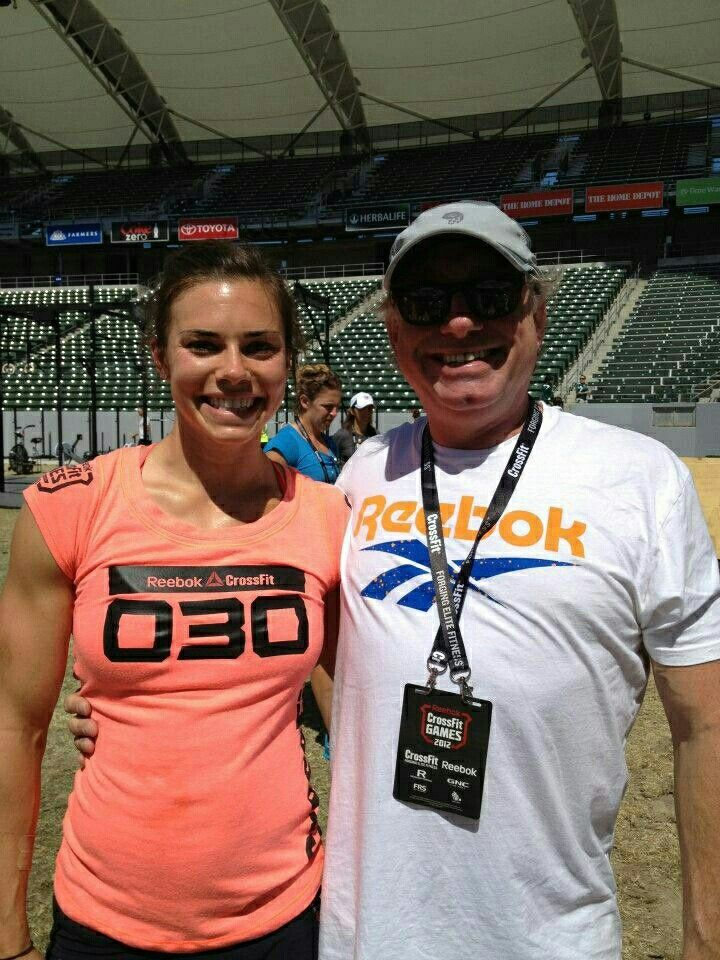 Pin by Ruben Bailey on Julie Foucher Crossfit games