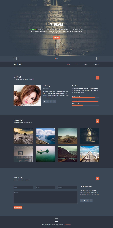 443 Stream Template Streaming Css Templates Website Design Inspiration