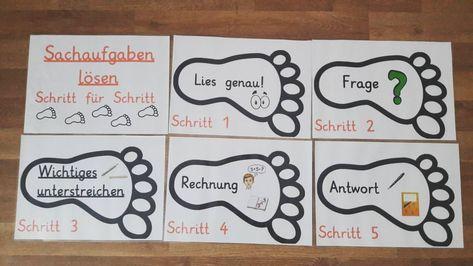 Schritt für Schritt zur Lösung #grundschule #grundschulalltag ...