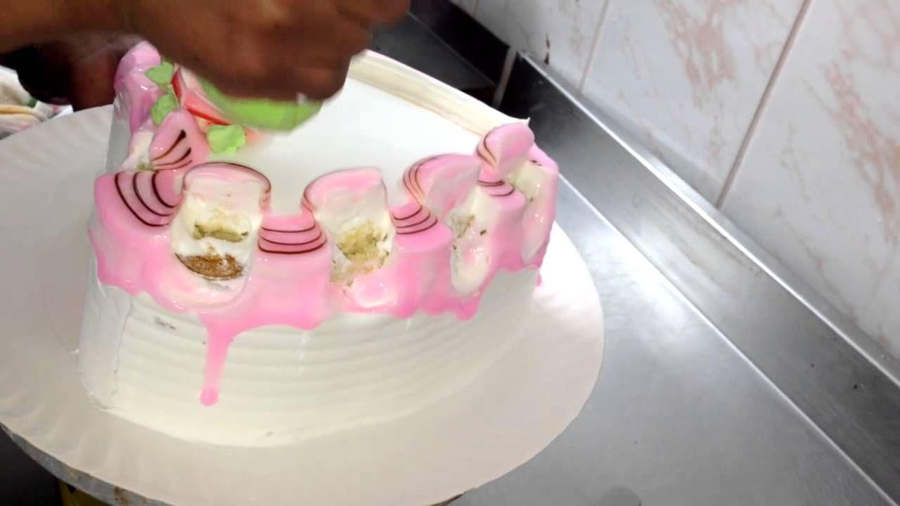 Como decorar una torta en forma de coraz n para tu amor for Como decorar una torta facil y rapido