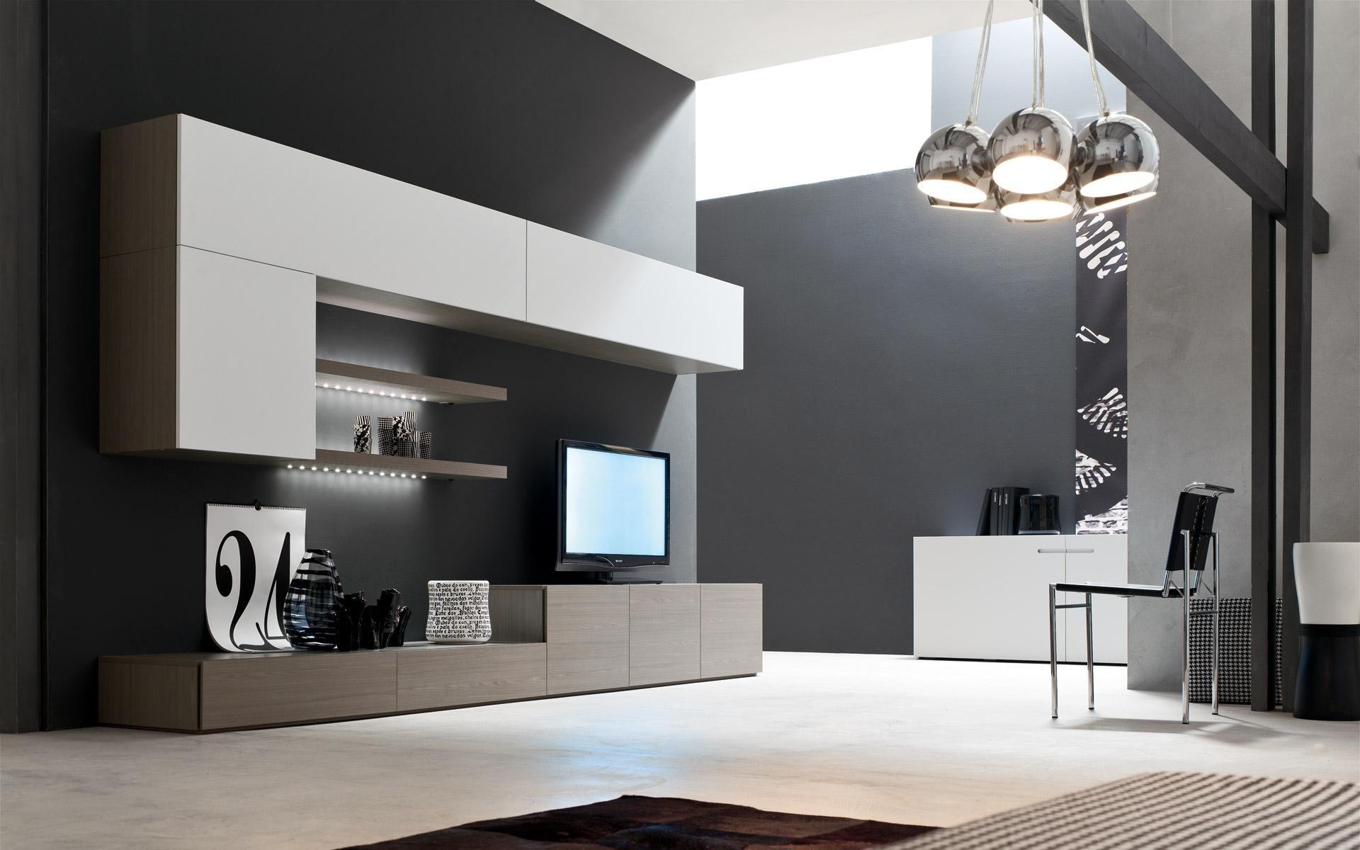 Parete soggiorno arredamento e idee per la casa for Idee parete soggiorno