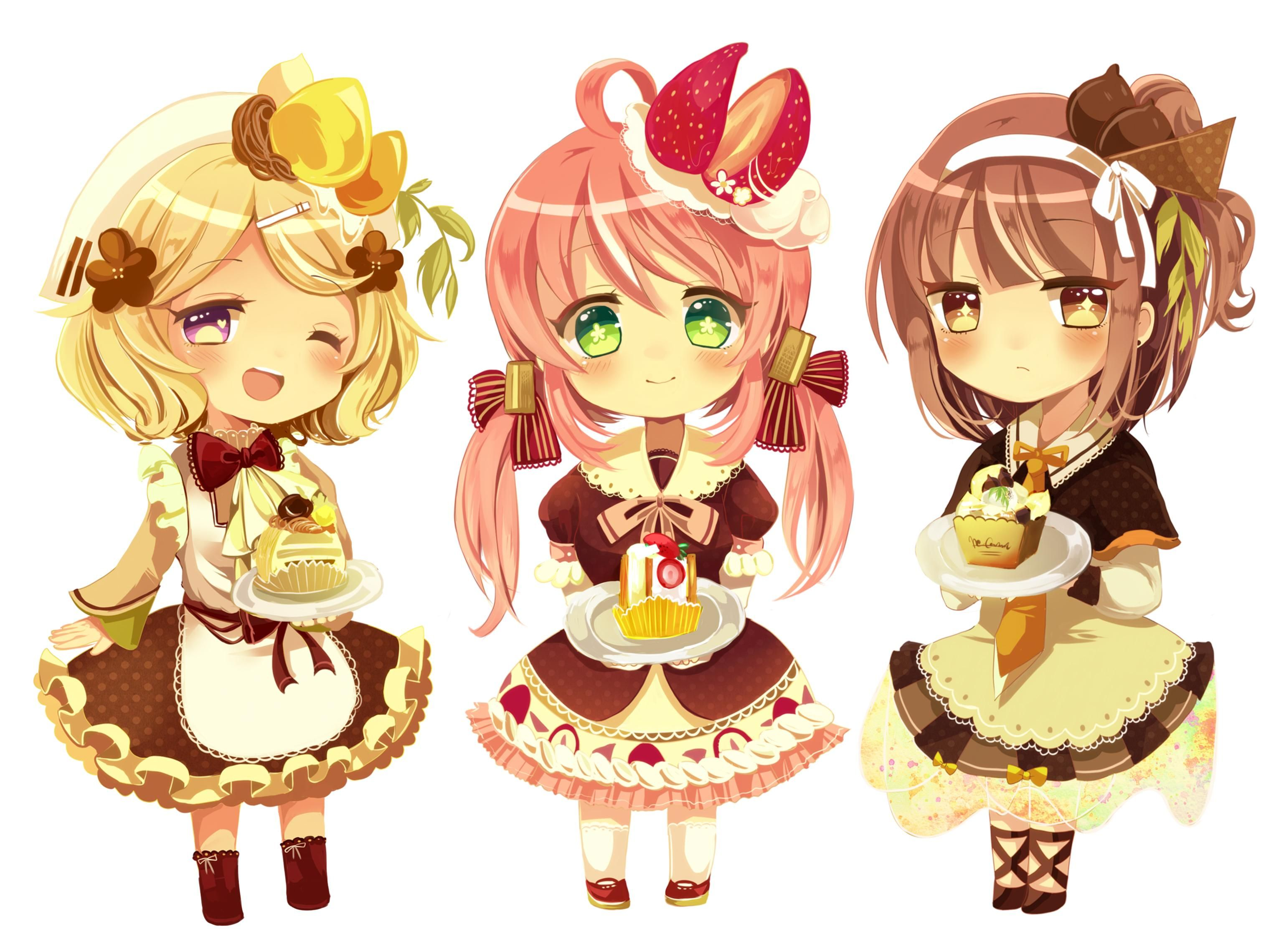 Images For > Cute Chibi Characters Cute anime chibi